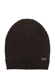 Club Nomade beanie hat in luxury cashmere quality - BLACK