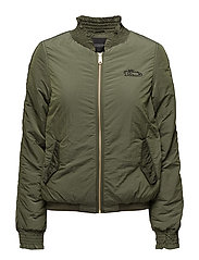 Nylon bomber - MILITARY GREEN