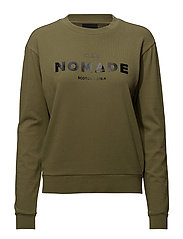 Club Nomade sweater - OLIVE