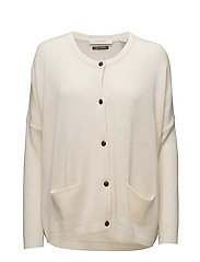 Chunky cardigan - OFF WHITE