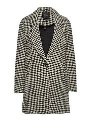 Bonded wool jacket in checks and solids - COMBO H