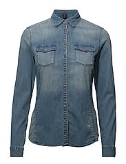 Fitted western denim shirt - COMBO B