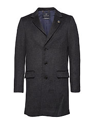 Classic 3-button coat in wool blend quality - COMBO B