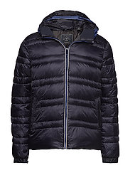Classic hooded down jacket - NIGHT