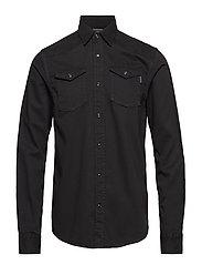 REGULAR FIT Garment dyed western inspired shirt - ANTRA