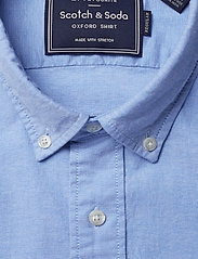 Scotch & Soda - NOS Oxford shirt regular fit button down collar - chemises basiques - blue - 2