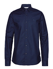 NOS Oxford shirt regular fit button down collar - NIGHT