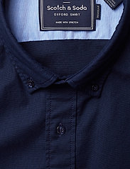 Scotch & Soda - NOS Oxford shirt regular fit button down collar - chemises basiques - night - 3