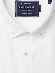 Scotch & Soda - NOS Oxford shirt regular fit button down collar - chemises basiques - white - 2