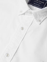 Scotch & Soda - NOS Oxford shirt regular fit button down collar - chemises basiques - white - 3