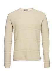 Structured rocker pull in wool blend quality - KIT MELANGE