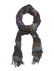 Lightweight woven scarf in cashmere blend quality - COMBO B