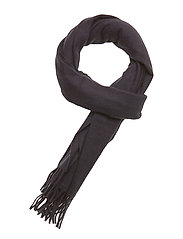 Classic woven scarf in 100% Wool quality - NIGHT