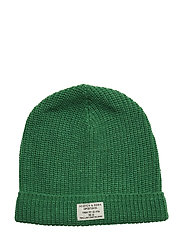 Classic beanie in structured knit - HIKING GREEN