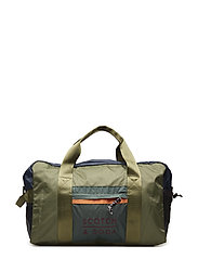 Gym bag in mix & match ripstop nylon quality - COMBO A