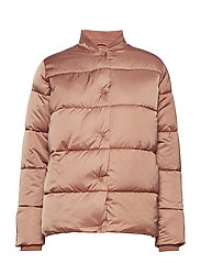 Short length technical down jacket - VINTAGE ROSE