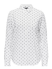 Oversized boxy fit cotton viscose shirt in various prints - COMBO M