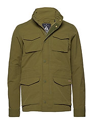 4 pocket military jacket - OLIVE GREEN