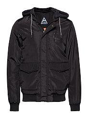 Ams Blauw bomber jacket - BLACK