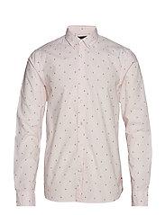 Ams Blauw allover print shirt - COMBO C