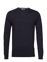 Ams Blauw Cashmere Knit - NIGHT