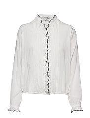 Drapy feminine shirt - OFF WHITE