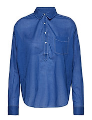 Light weight cotton shirt - YINMIN BLUE