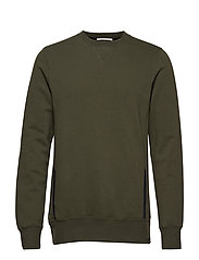 Club Nomade classic crewneck sweat - GREEN NATURE
