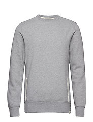 Club Nomade classic crewneck sweat - GREY MELANGE