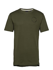 Club Nomade clean S/S tee - GREEN NATURE