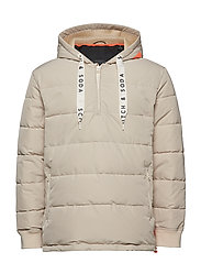 Club Nomade pop-over jacket - SAND