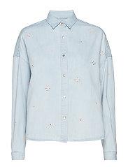 Boxy western shirt - INDIGO
