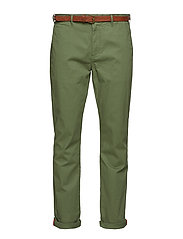 Ams Blauw Stuart chino - MILITARY GREEN