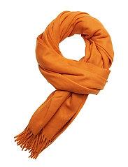 Classic wool scarf - PUMPKIN