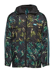 Seasonal jacket with signature palm all-over print - COMBO A