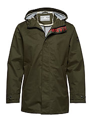Amsterdam Proof - classic waterproof parka - MILITARY