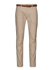 STUART-Classic garment dyed chino - COMBO A
