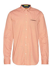 REGULAR FIT- Shirt with sleeve collectors and fixed pochet - COMBO A