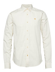 REGULAR FIT- Classic garment dyed shirt - KIT