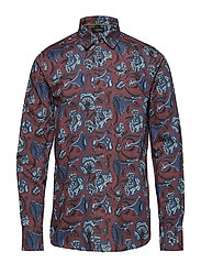All-over printed batik shirt - COMBO B