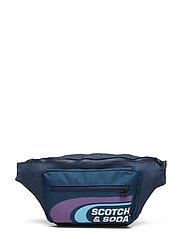 Oxford Nylon Belt Bag With Logo Print