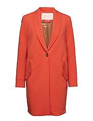 Bonded tailored jacket - TOMATO