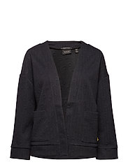 Jacquard sweat blazer - NIGHT
