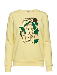Relaxed fit sweat with various artworks - LEMONADE