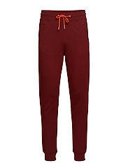 Club Nomade sweat pant with contrast details - NOMADE RED