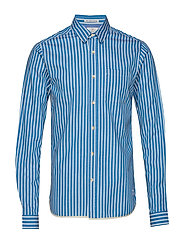 Regular fit deck chair stripe shirt - COMBO A