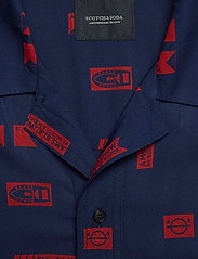 Scotch & Soda - Short sleeve shirt with prints - kortærmede skjorter - combo c - 2