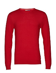Ams Blauw crew neck pull - LIFEGUARD RED