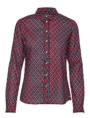 Classic long sleeve shirt with all over print - COMBO A