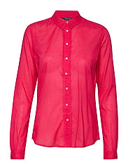 Classic long sleeve shirt with all over print - PINK PIER